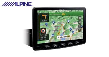 ALPINE INE-F904TRA: Navi für Ford Transit