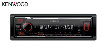 KENWOOD KMM-BT407DAB Autoradio, USB-Receiver