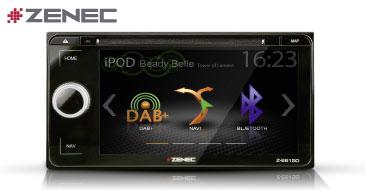 ZENEC E>GO Z-E6150: Navigation für Toyota