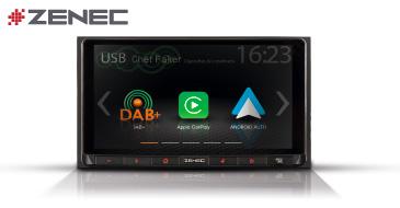 ZENEC Z-N528: 2-DIN Infotainer mit Apple CarPlay und Google Android Auto