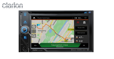 Clarion NX405E: 2-DIN Multimedia-Navigation