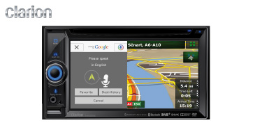 Clarion NX505E: 2-DIN Multimedia-Navigation
