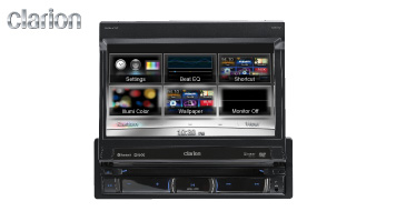 Clarion NZ502E: 1-DIN Multimedia-Navigation