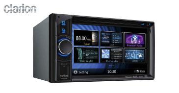 Clarion VX404E: 2-DIN Multimediasystem im Programm von ACR Multiplanet