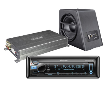 Multiplanet in Gebenstorf: Car Audio Systeme Axton und Kenwood