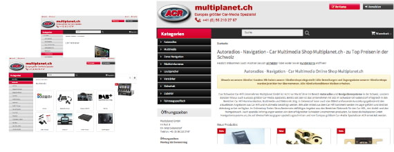 ACR Multiplanet: Online-shop